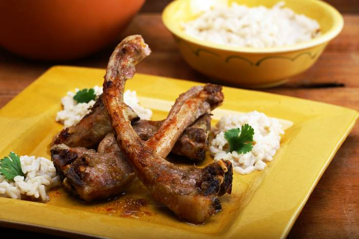 Recipe by African style lamb chops