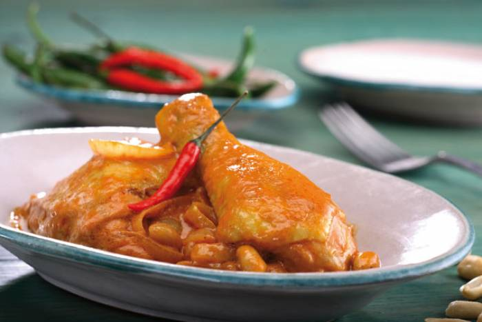Recipe by Chicken with coconut