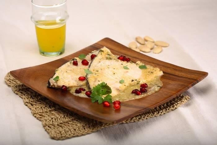 Recipe by Swordfish with basil