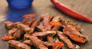 Sauted steak