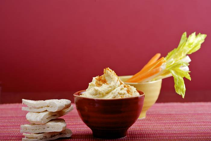Recipe by Hummus (chickpea paste)