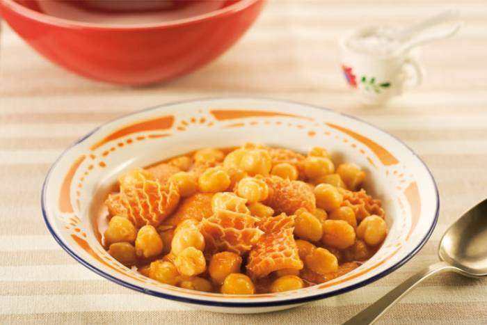 Recipe by Lamb tripe with chick peas